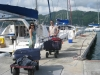 Arriving in Tortola to take posession of Life Part 2