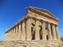 Greek Temples at Agrigento, Sicily, July 2012