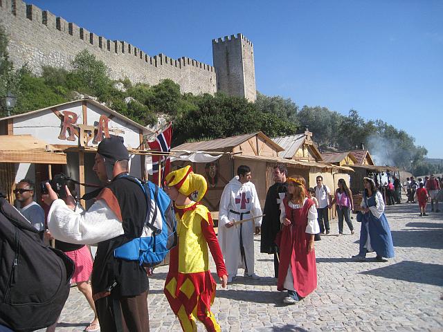 Medieval market, Obidos, Portugal