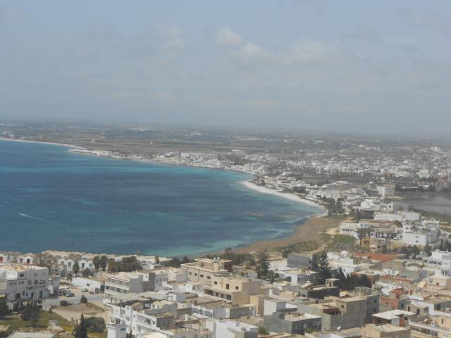 Another nice view form the Fort. Tunisia has beautiful beaches of very fine sand