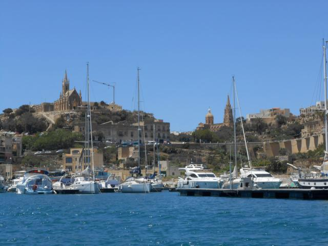 Mgarr fishing port, Gozo