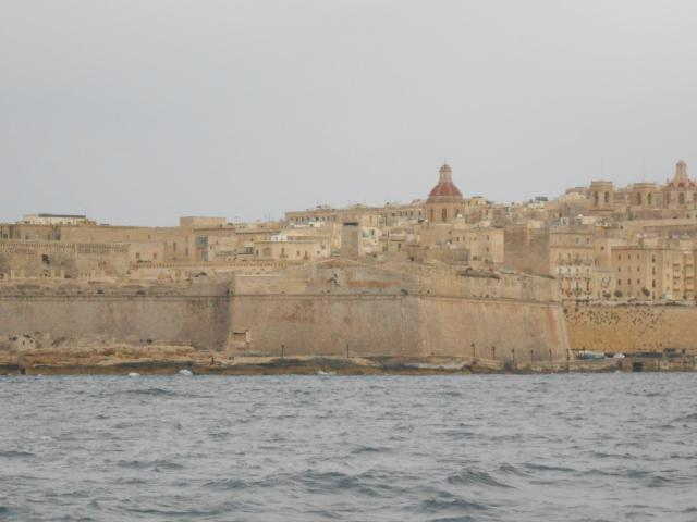 Fort St. Elmo. Entrance to Sliema creek in Valleta.