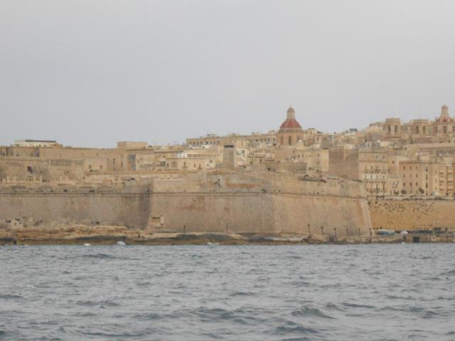Fort St. Elmo. Entrance to Sliema creek in Valleta.