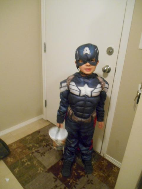 Captain America to the rescue