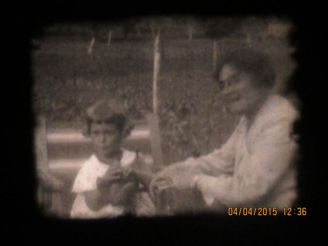 My mum, Heidi, aged 2, with her grandmother Emma