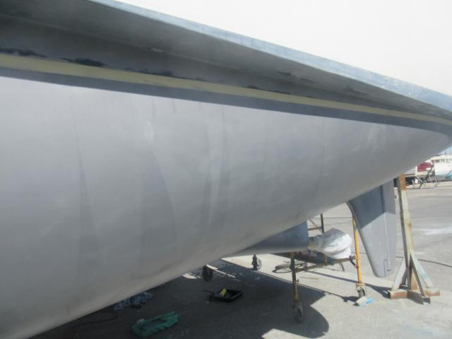 First coat of epoxy primer