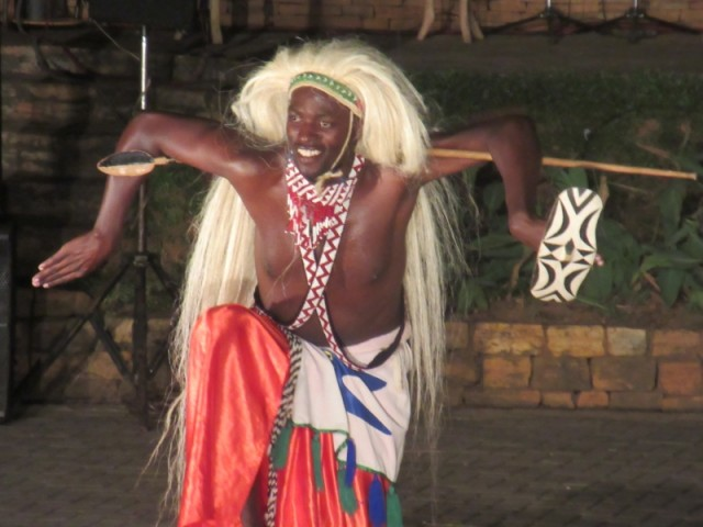 One of the traditional dancers at the Kempala Ndere Cultural Centre show. It was an excellent night out.