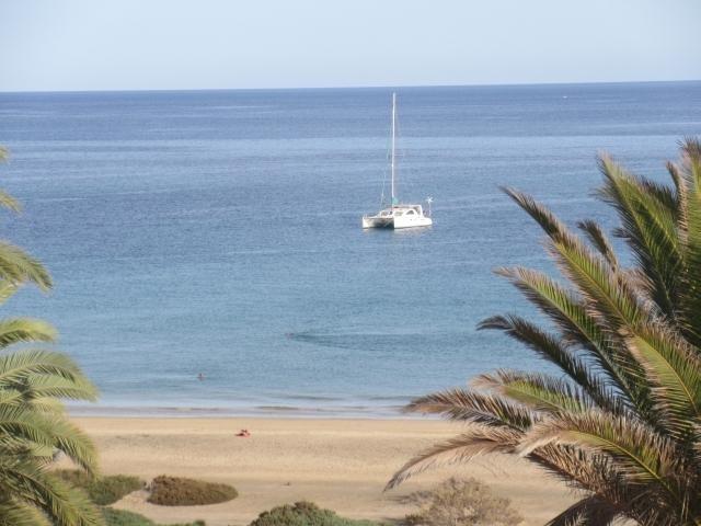 anchored in bahia calma