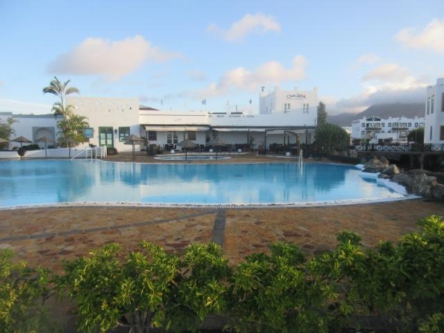 Pool are in marina Rubicon